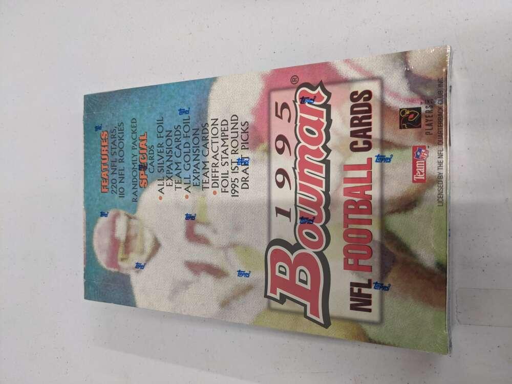 1995 BOWMAN FOOTABLL FACTORY SEALED HOBBY BOX WB1540